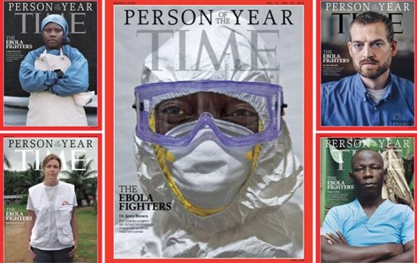 Журнал Time удостоил звания  Человек года  борцов с Эболой