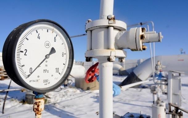 Украина получила первый газ из России