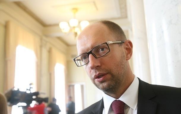 Яценюк в понедельник встретится с генсеком НАТО