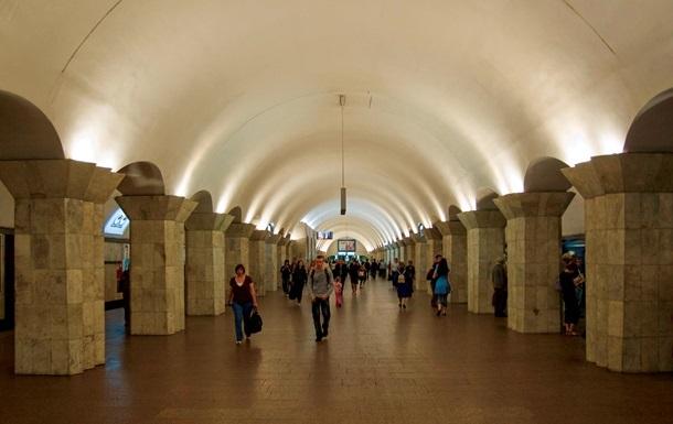 Столичная станция метро Майдан Незалежности не работала более часа