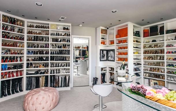 В США продают дом с трехэтажным гардеробом