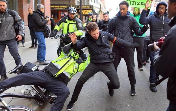 В Бостоне в ходе акции протеста задержали 23 человека