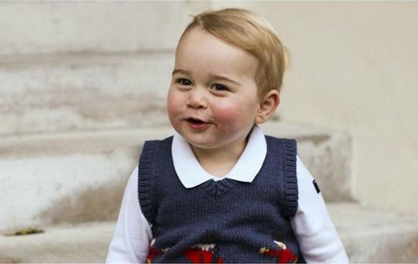 Обнародованы рождественские фото принца Джорджа