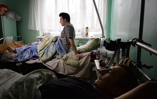 Великобритания примет на лечение 5 раненых украинских военных