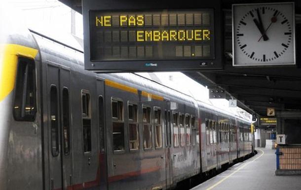 Забастовка парализовала транспортное сообщение в Бельгии