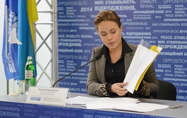 Оппозиционный блок  подал в КС иск по  антикризисным  законам