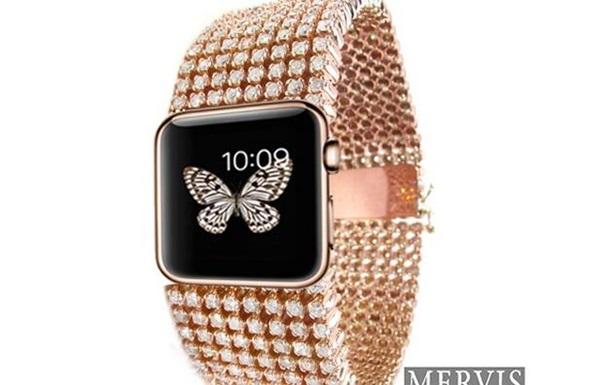 Ювелиры выпустят бриллиантовую версию Apple Watch