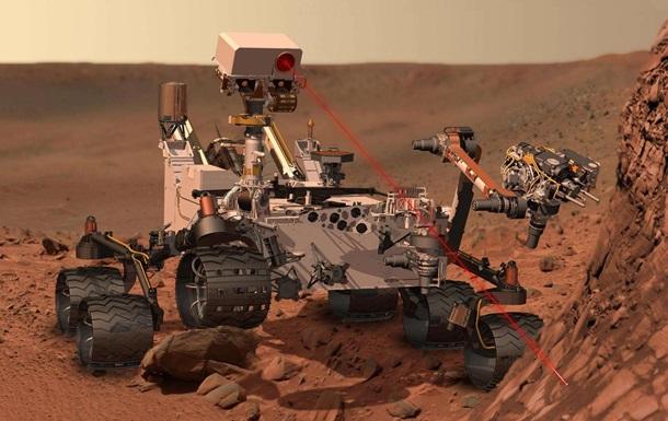 На Марсе впервые обнаружена органика