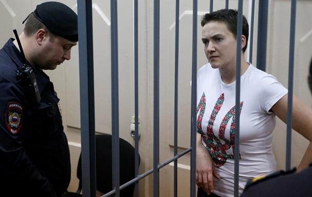 Летчица Савченко отказалась прекращать голодовку