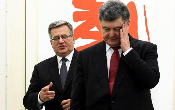 Польские объятия. Как Порошенко встретили в Варшаве