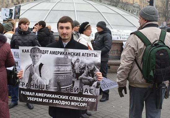 Почему украинские СМИ «не заметили» массового вооружённого разбоя в центре Киева