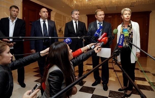 Дата переговоров в Минске пока не определена