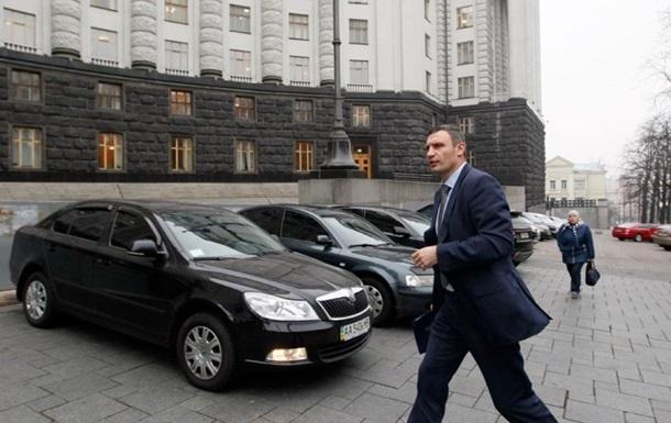 В Киеве готовят новую систему парковки автомобилей