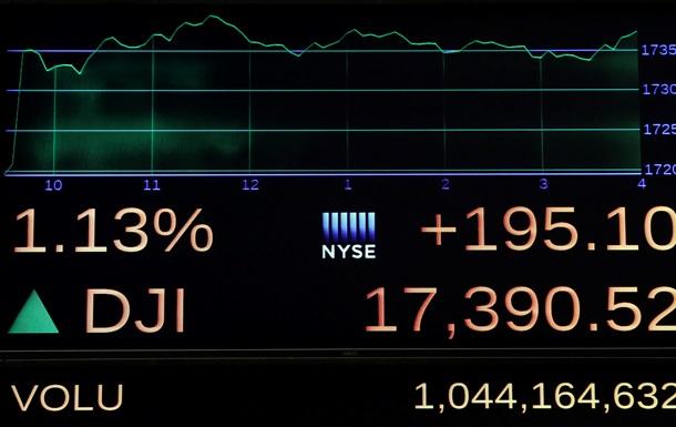 Биржи США продемонстрировали рост