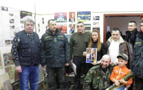 Юлія Казмірчук з акцією  Захисти і повернись! - бійцям АТО