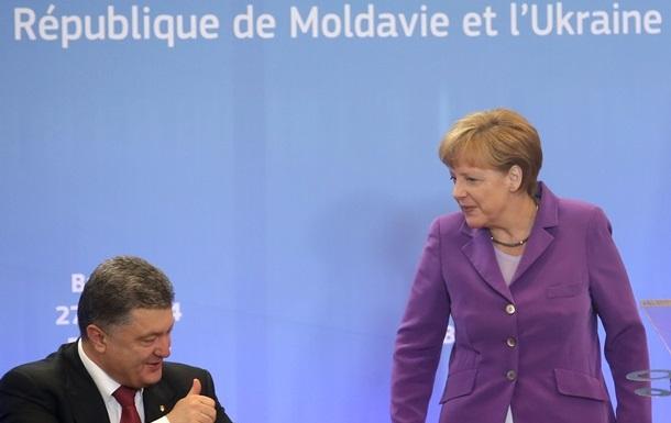 Порошенко рассказал Меркель о плане реформ