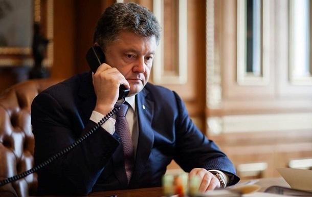 Порошенко и Байден обсудили предоставление Украине финансовой помощи