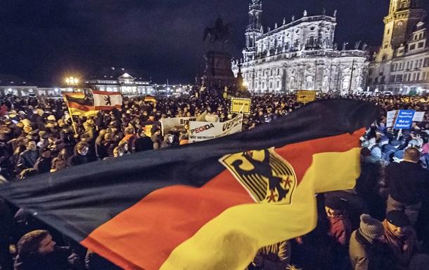 Масштабный антиисламский митинг прошел в Германии