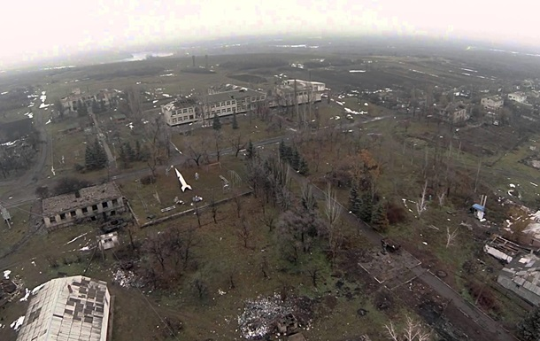 В сети появилось видео из поселка- призрака  на Донбассе