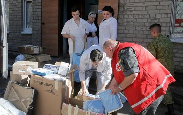 Украина получила свыше трех миллионов гривен медицинской гумпомощи