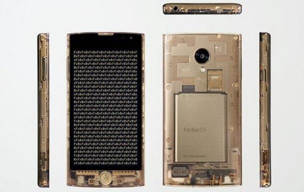 LG представила прозрачный смартфон на Firefox OS
