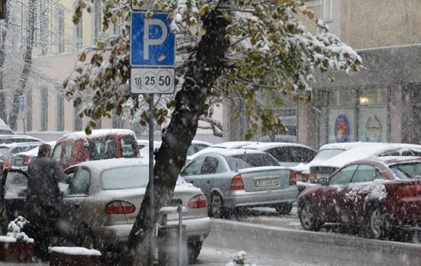 В Украину возвращается зима