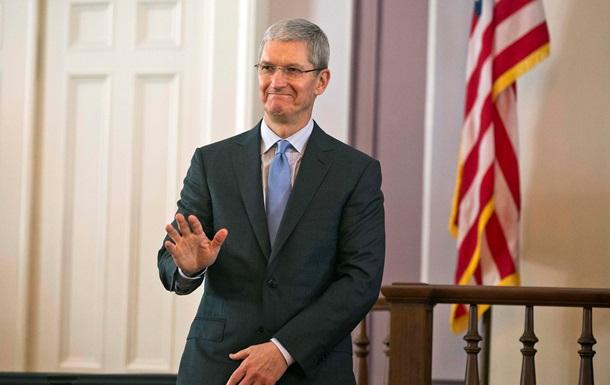 Глава Apple Тим Кук признан гендиректором года по версии CNN