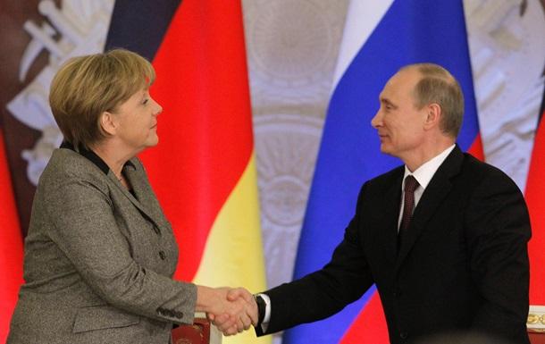 Пресса Британии: Меркель сдерживает Путина
