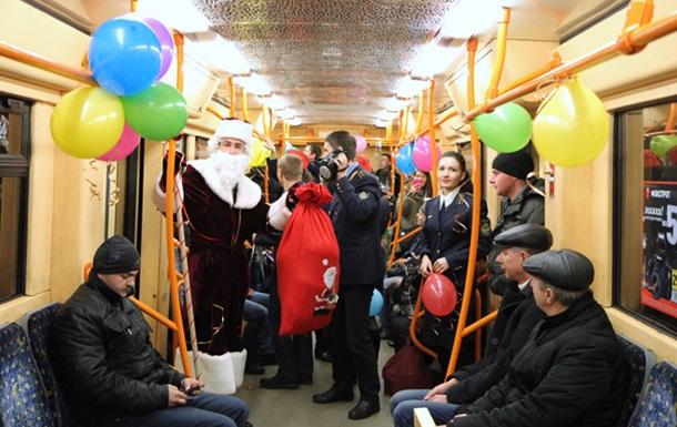 Киевское метро продлило график работы в новогоднюю ночь