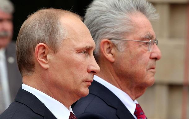 Президент Австрии предостерегает от новых санкций в отношении РФ
