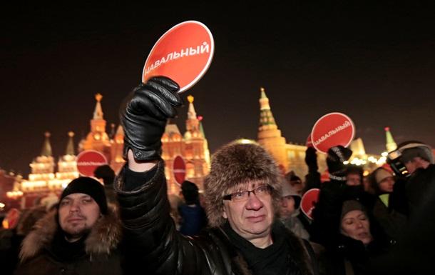 Как сторонники Навального протестовали в Берлине