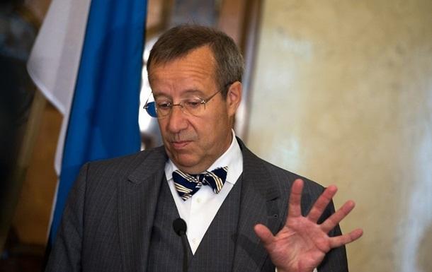 Президент Эстонии отказался ехать в Москву на День победы