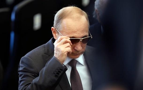 Путин признан  Человеком года  за превращение РФ в центр коррупции