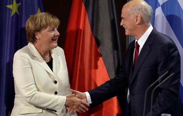 Берлин опроверг сообщение об изменении курса по отношению к Греции