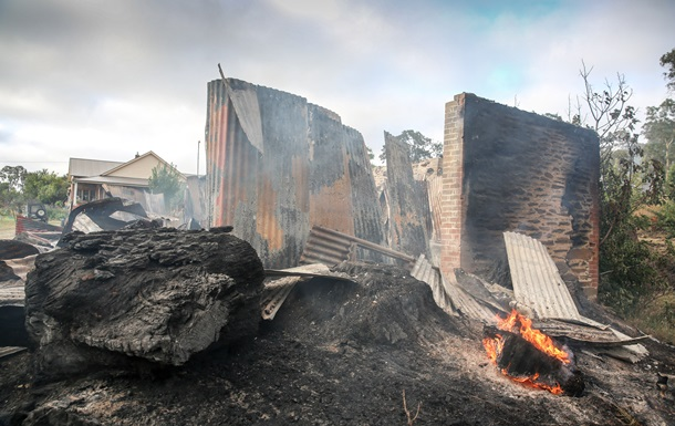 Несколько десятков человек пострадали при природных пожарах в Австралии