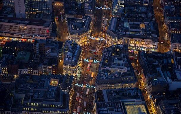 Британский фотограф показал Лондон-2014 с высоты птичьего полета