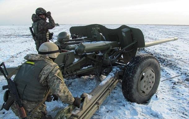 Обстрелы в Донбассе продолжаются: карта АТО за 6 января