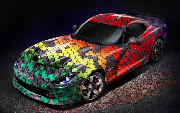 Осторожно - ядовит! Dodge выпускает эксклюзивный спорткар Viper GT