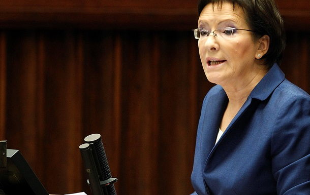 Премьер Польши Ева Копач посетит Украину 19 января