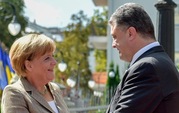 Порошенко завтра встретится с Меркель