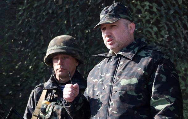 Турчинов не советует жителям Донбасса брать деньги у сепаратистов