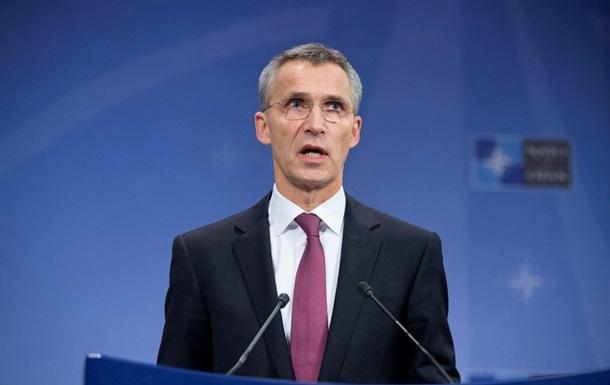 Генсек НАТО заявил о снижении военной активности на Донбассе