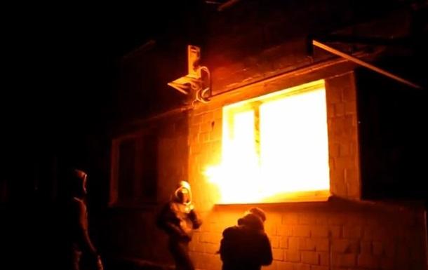 КПУ заявила о поджоге ее офиса в Киеве