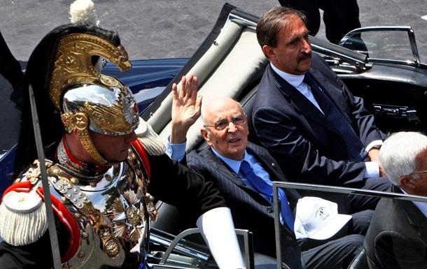 Премьер Италии сообщил о скорой отставке президента
