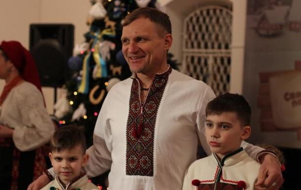 Олег Скрипка впервые показал детей