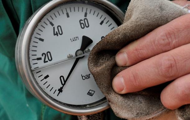 Импорт газа в Украину сократился почти на 10%