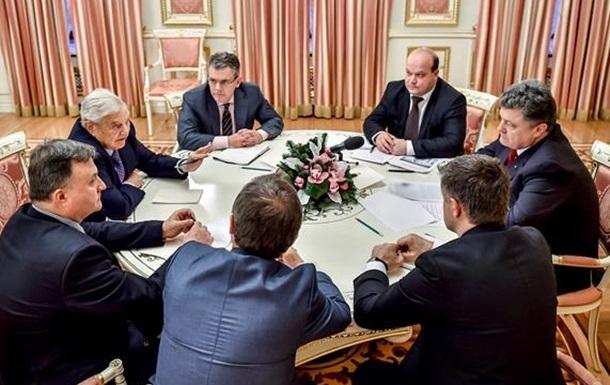 Встреча по семейному - чего хочет Сорос от Украины и Европы