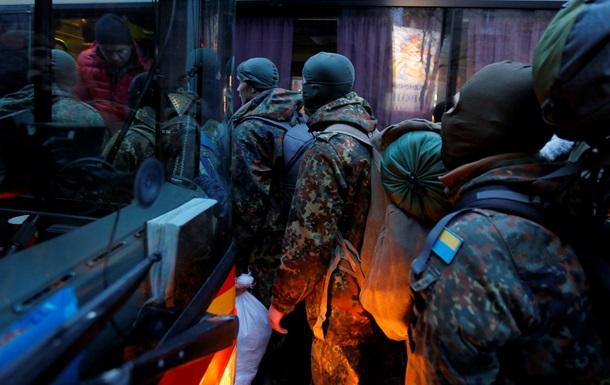 В зону АТО отправились бойцы полка  Азов
