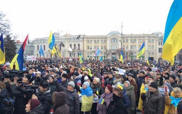 В Харькове прошел Марш мира