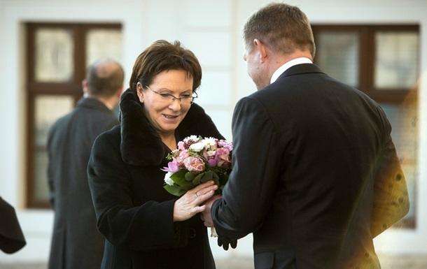 """Премьер Польши прибыла в Киев """"придать новую динамику"""" отношениям стран"""